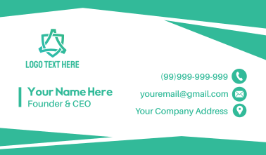 Corporate Business Card Business Card
