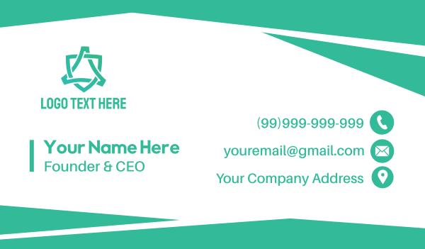 trade - Corporate Business Card Business card horizontal design