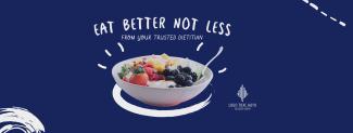 Eat Better Not Less Facebook cover