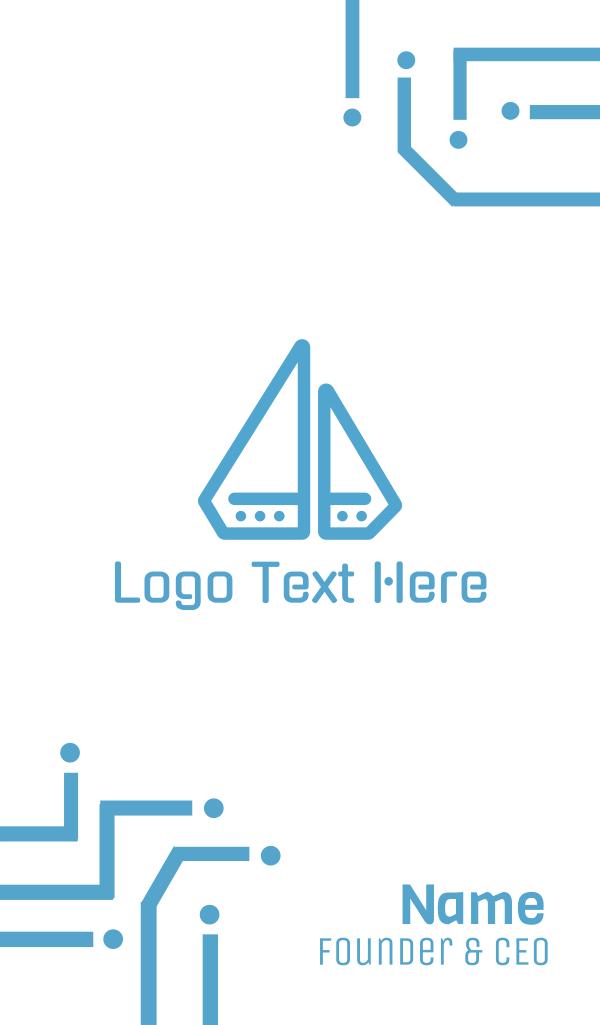 Diamond Boat Business Card