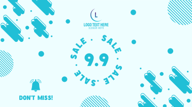 9.9 Special Sale Day Notif  Facebook event cover