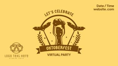 Celebrate Oktoberfest Facebook event cover
