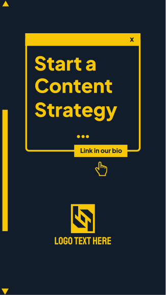 Content Strategy Facebook story