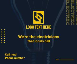 Electrician Service Facebook post