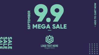 Mega Sale 9.9 Facebook event cover