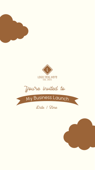 You're Invited Facebook story