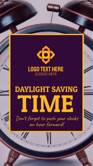 Daylight Saving Facebook story