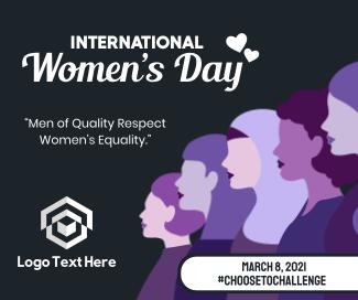 International Women's Day Facebook post