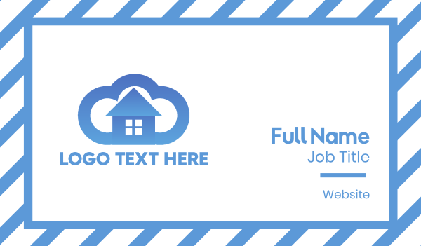 Cloud House Business Card