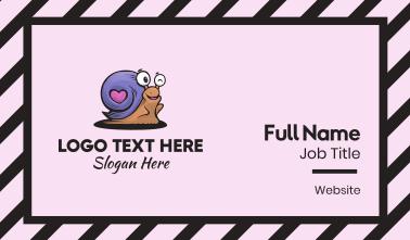 Purple Snail Business Card