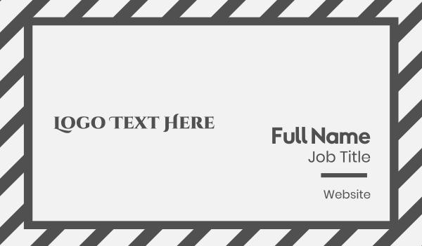 sorority - Traditional Serif Wordmark Business card horizontal design
