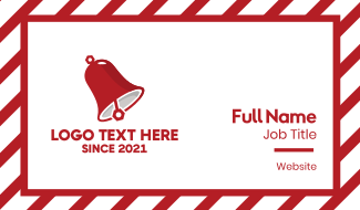 Red Bell Business Card