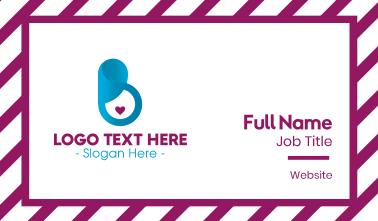 Pregnancy Love Business Card