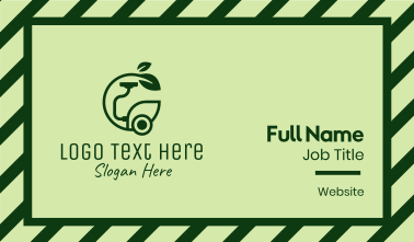 Eco Friendly Hoover  Business Card