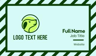 Green Dog Veterinary Business Card