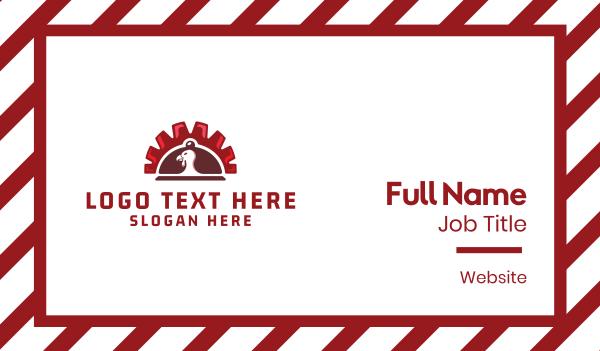 feast - Turkey Order Business card horizontal design