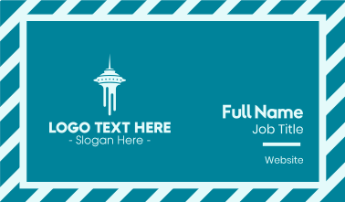 Seattle Tower Business Card