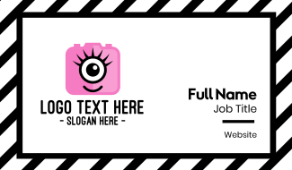 Pink Monster Photography Business Card