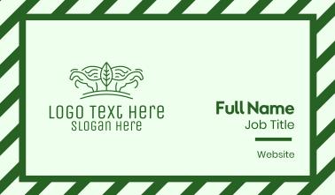 Green Horse Farming  Business Card