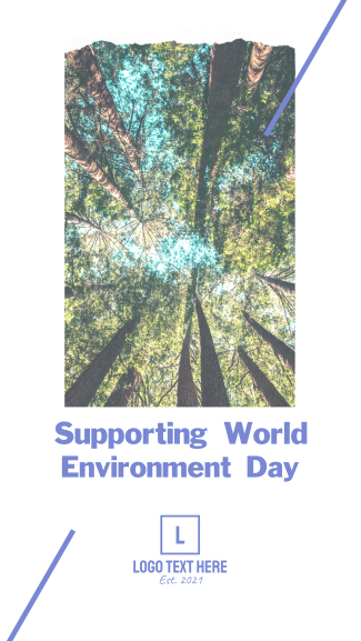World Environment Day Facebook story
