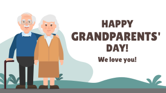 Happy Grandparents Day! Facebook Event Cover
