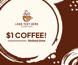 $1 Coffee Facebook post