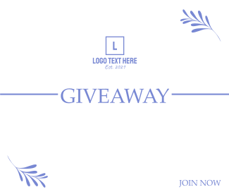 Giveaway Announcement Facebook post