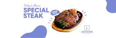 Todays Menu Steak Twitter header (cover)