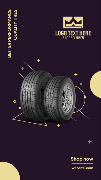 Quality Tires Facebook story
