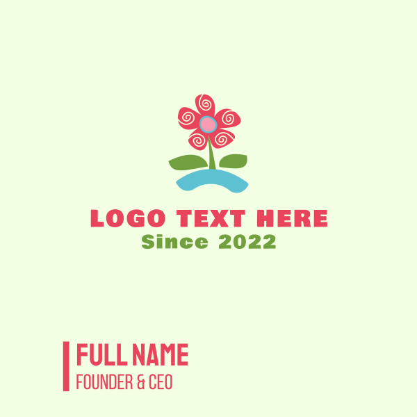 Blooming Flower Business Card