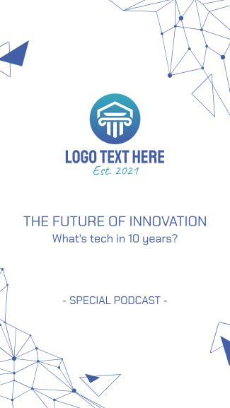 Technology Podcast Facebook story