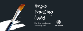 Basic Painting Class Facebook cover