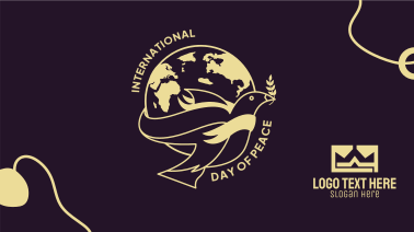 Day Of Peace Globe Facebook event cover