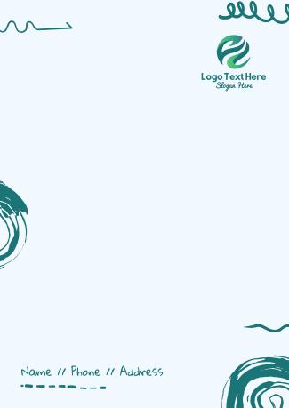 Scribble Letterhead