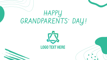 Happy Grandparents' Day Abstract Facebook event cover