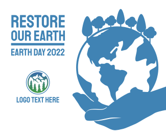 Earth Day Facebook post
