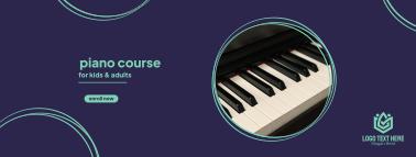 Piano Circle Facebook cover