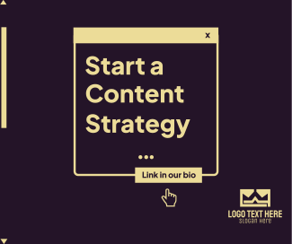 Content Strategy Facebook post