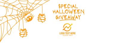 Spider Web Halloween Facebook cover