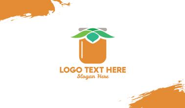 Leaf Jar Business Card