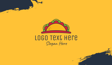 Taco Mexican Restaurant Business Card