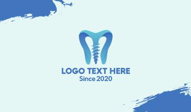 Dental Implant Clinic  Business Card