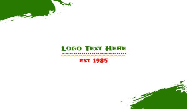 burrito - Festival Theme Business card horizontal design