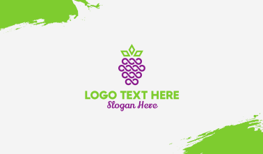 Royal Blackberry Fruit Business Card