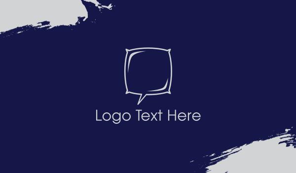 furniture - Night Chat Business card horizontal design