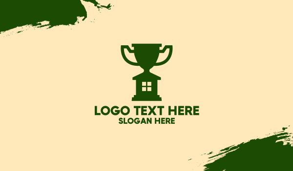 contest - Big Trophy House Business card horizontal design