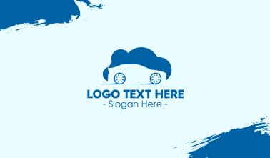 Automobile Cloud Business Card