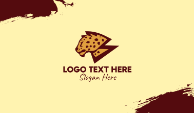 Wild Cheetah Safari  Business Card