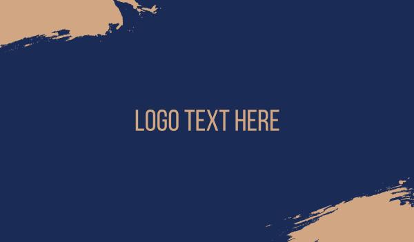 wix - Modern Sans Serif Business card horizontal design