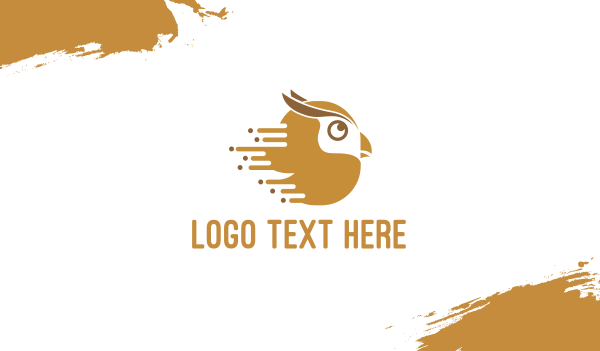 owl - Fast Owl Business card horizontal design
